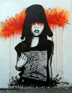 FinDac woman in a Joy Division shirt? Now my favorite piece!