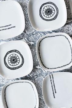 Decorar con.... ceramica, porcelana y cristal pintado!