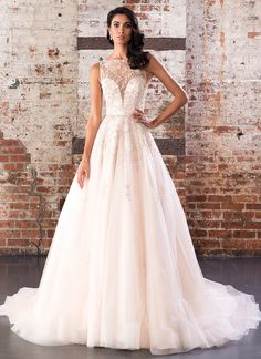 Justin alexander bridal wedding dress collection spring 2019 the perfect blend of innovative details and sleek styling this ball gown has an illusion junglespirit Images