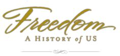 Freedom -- A History of US: from PBS, a sixteen-part series, based on the award winning books by master storyteller Joy Hakim. Watch the series here, take quizzes, play games. Teacher guides available too.