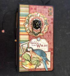 G45 Kits - Vol 07 - 2020 Safari Adventure, Adventure Travel, Mini Scrapbook Albums, Mini Albums, Travel Album, May Arts, Adventure Photos, Bone Folder, Album Design