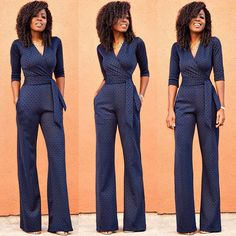 Weekend Wear: Diamond Print Jumpsuit