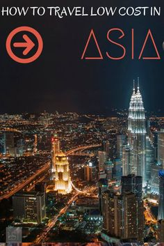 How to travel on low cost airlines in Asia
