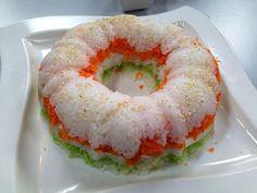 Rosca de Sushi | Receta de Dore Ferriz en AguayAjo.com