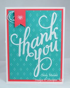 Discover Stamping: Catalog Case Number 4 #stampinup #anotherthankyou #handmadecards