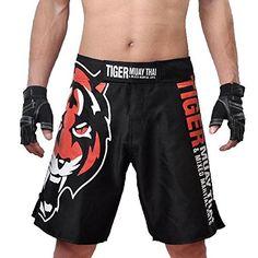 BD MMA UFC Tiger Muay Thai Boxing Trunks Black (XXXL) BD…
