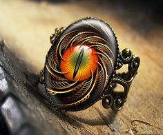 Steampunk Dragon Cat Eye Fantasy Art Adjustable by KasketKustoms, $15.99    love this one Taylor idea!!!********