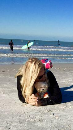 Amy Pfister and Alvin Treasure Island Florida