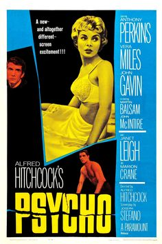 """Psycho"", suspense horror film by Alfred Hitchcock (USA, 1960)"