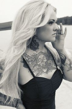 My opinion isn't the popular one...but takeaway the tattoo and you have an even more beautiful woman.