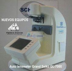 ADQUISION DE NUEVOS EQUIPOS. Auto lensmeter Grand Seiko GL-7000 Lab