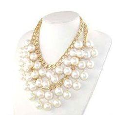 """2 Broke Girls"" Pearl Necklace"