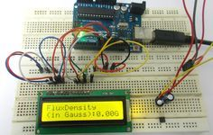 Magnetic Field Measurement using Arduino Uno