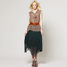 TS Sleeveless Ribbon Mesh Blouse Shirt – US$ 17.49