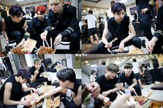 [Picture/FB] Starcast Bangtan Room / DOPE MV Filming Chapter [150624]
