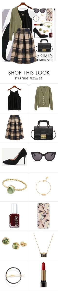 """""""It's Czech Outfit"""" by ohsosartorial on Polyvore featuring By Terry, Banana Republic, Christian Dior, Nashelle, Essie, Casetify, Dinny Hall, Mrs. President & Co., Lancôme and under50"""
