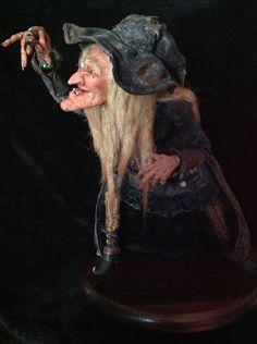 OOAK Art Doll Witch. $2,100.00, via Etsy.