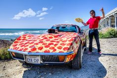 We love fast cars and pepperoni 🏎🍕 Pizza Art, Pizza Pizza, 4 Cheese Pizza, Pizza Quotes, Baked Sandwiches, I Love Pizza, Nova, Fast Cars, Pizza