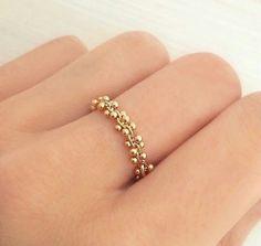 Modest Fingerring 925 Silber Vergoldet Echte Süßwasserperle 9mm Zirkon Perlen Schmuck Uhren & Schmuck Perlen
