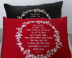Inspirational Prayer Pillowcases with Healing by restintheword, $20.00
