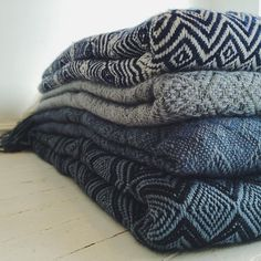 Peruvian blankets from Cambie Designs in Toronto