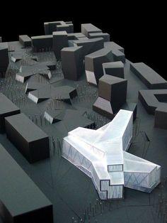 Impressive Architecture Model For You – Design and Decor Architecture Design, Architecture Model Making, Architecture Drawings, Concept Architecture, Contemporary Architecture, Architecture Office, Planer Layout, Design Brochure, Arch Model