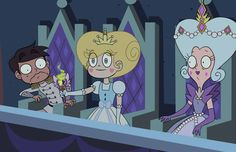 marco: OMG STAR moon: star a princess never uses magic from Eclipsa's character  Star: problem solved, marco let's go home