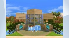 Scopri il lotto nella Galleria di The Sims 4! - This is Serenity, The Future Home! Here you can find some unique decor and I'm pretty sure your sims will like it! This house has been built above a large pool and it includes a bathroom, a bedroom, a living room, a kitchen and an office. In addition I used #MOO and #SHO . #NoCC #ResidentialLot#Future#Beautiful#Pool#Alien#Science#Serenity#FutureHome#StopStealing#Enjoy#HappySimming#LaMattu
