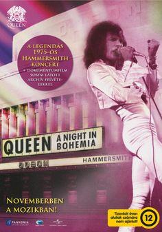 """Queen A Night in Bohemia"" al cinema dal 16 al 18 maggio Cinema Online, Elvis Presley, Moon News, God Save The Queen, Queen Poster, Brian May, Over The Moon, Press Release, Freddie Mercury"
