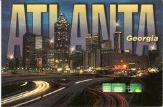 Atlanta, GA in Georgia Georgia Usa, Atlanta Georgia, Atlanta Braves, Great Places, Places Ive Been, Places To Visit, Wisconsin, Michigan, Geography Games