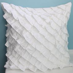 Share this page with others and get 10% off! Ruffle Cushion Cover - Accent Pillows - Bedding