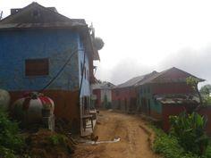 Village rural, alentours de Tansen