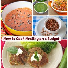 How to Cook Healthy on a Budget (+ supporting Feeding America food banks w. No Carb Recipes, Healthy Recipes On A Budget, Healthy Eating Tips, Healthy Dessert Recipes, Budget Meals, Healthy Alternatives, Healthy Cooking, Diabetic Snacks, Flour Recipes