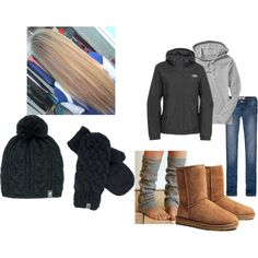 """""""Football game by abby"""" by ltysdal on Polyvore"""