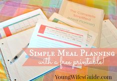 Does meal planning overwhelm you? Try creating your meal plan around a seasonal template that will help your meal planning become super easy and seamless with this free printable!