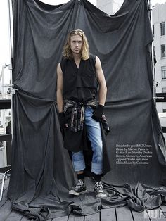 Men's Editorial - Grunge, photography by Robert Kley, styled by Jimi Urquiaga for HUF Magazine - HUF Magazine