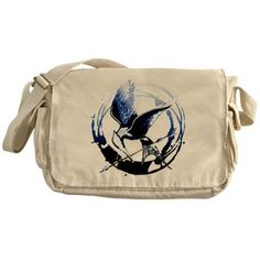I found 'Mockingjay Blue Indigo Hunger Games Gear Messenger' on Wish, check it out!