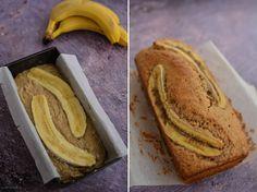 Chec vegan cu banane și migdale (banana bread) | Bucate Aromate Raw Vegan, No Bake Cake, Baking Recipes, Banana Bread, Cooking, Cake Baking, Food, Banana, Cooking Recipes