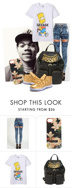 """""""C.C.B.K (Coco Butter Kisses)"""" by kearah-scott ❤ liked on Polyvore featuring Ted Baker, ElevenParis and Moschino"""