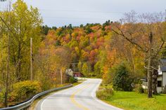 Fall foliage in New England on the road: quarto giorno, Vermont Vermont, New England, Country Roads, Fall, Travel, Autumn, Viajes, Trips, Traveling