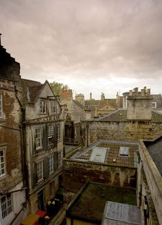 Bath, England rooftops - love these.