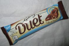 Galaxy Duet Toffee & Popcorn Milk Chocolate Bar
