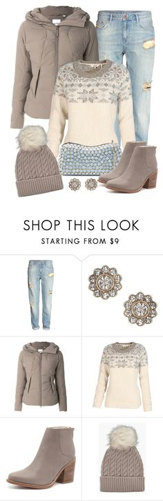 """Casual warmth"" by gallant81 ❤ liked on Polyvore featuring H&M, Miss Selfridge, Aspesi, Fat Face, Elie Saab, Sol Sana and Boohoo"