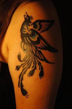 鳳凰のタトゥーデザイン|タトゥーナビ