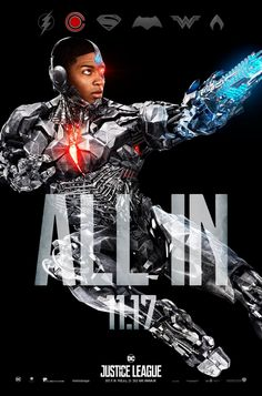 Justice League - Cyborg - All In