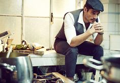 In the Kitchen with David Gandy by Sergi Pons