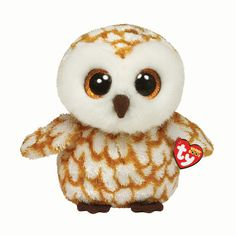 Large H 22cm TY Swoop the Owl Soft Toy