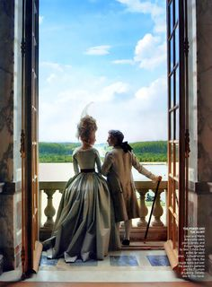 Simply Creative: Marie Antoinette - Vogue by Annie Leibovitz