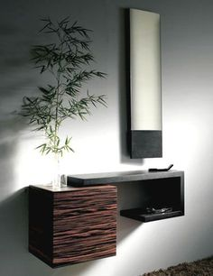 Recibidor moderno minimalista