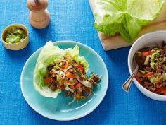 Asian Style Lettuce Wraps from CookingChannelTV.com